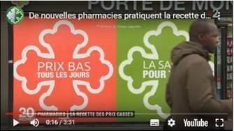 France 2 consacre un reportage au concept Pharmacie Lafayette