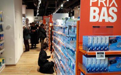 Le Parisien consacre un article à l'ouverture de la plus grande parapharmacie de France