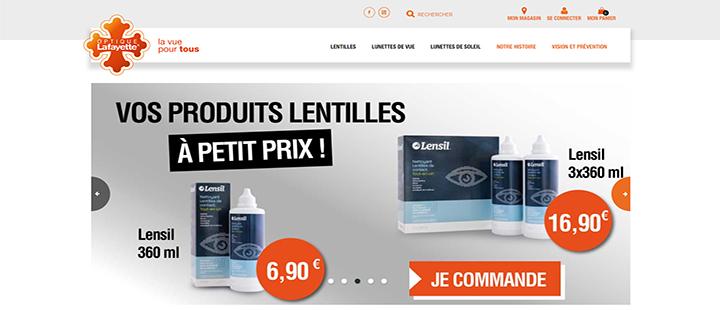 L'enseigne Optique Lafayette lance son site internet